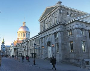 THE BONSECOURS MARKET at the Rue Saint Paul Est is shown in Old Montreal, in Montreal.