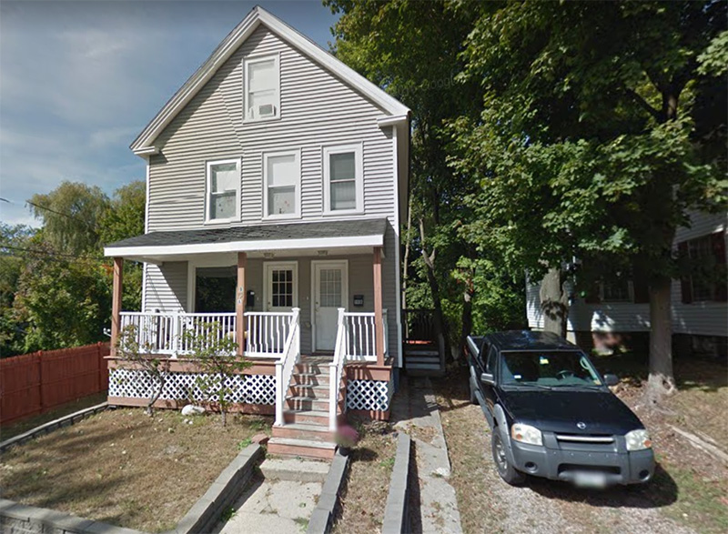 The house at 19 Nason St. in Sanford where agents from the Maine Drug Enforcement Agency say they seized a total of nearly 3 pounds of cocaine and heroin/fentanyl.