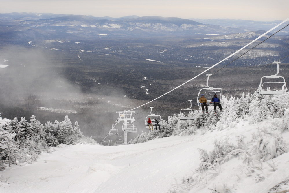 The Saddleback Mountain ski area is expected be sold, after sitting idle for the past two winters. Officials planned a news conference Wednesday to announce details of the sale.
