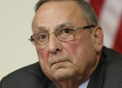 """Gov. Paul LePage told a talk show that he vetoed two bills because """"I'm tired of living in a society where we social engineer our lives."""""""