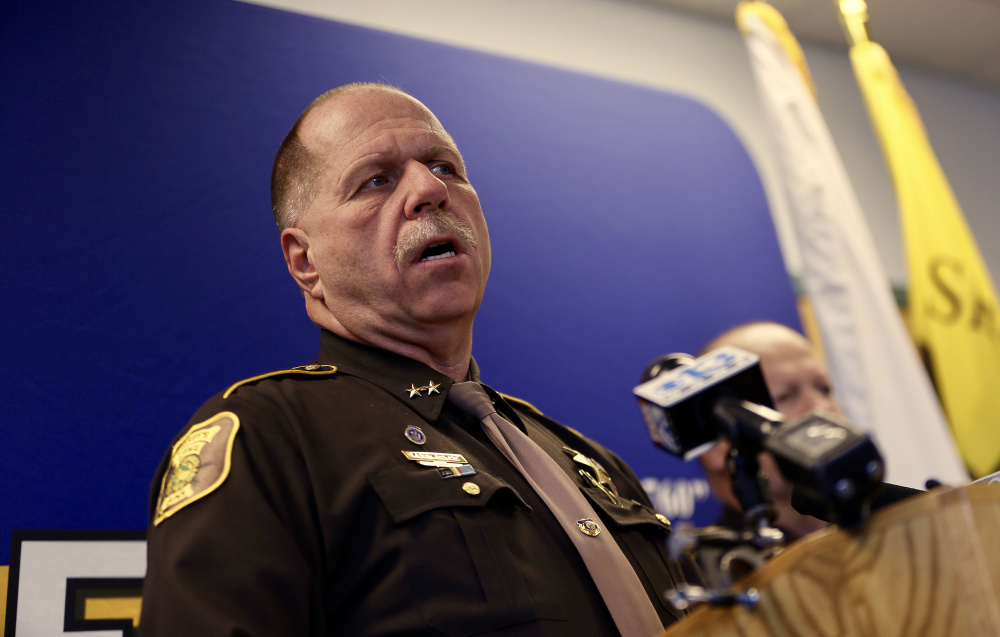 """Cumberland County Sheriff Kevin Joyce: """"It's not our job to be the judge, jury and executioner."""""""