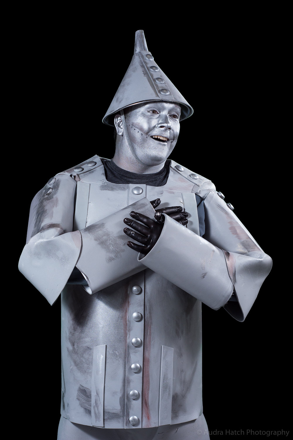 Brian McAloon as Tin Man in City Theater's production of