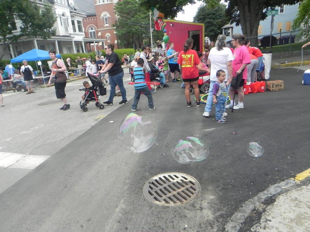 The 10th annual Bacon Street Festival returns Sunday, with a host of activities available for family members of all ages. SUBMITTED PHOTO/Courtesy of Linda Waters