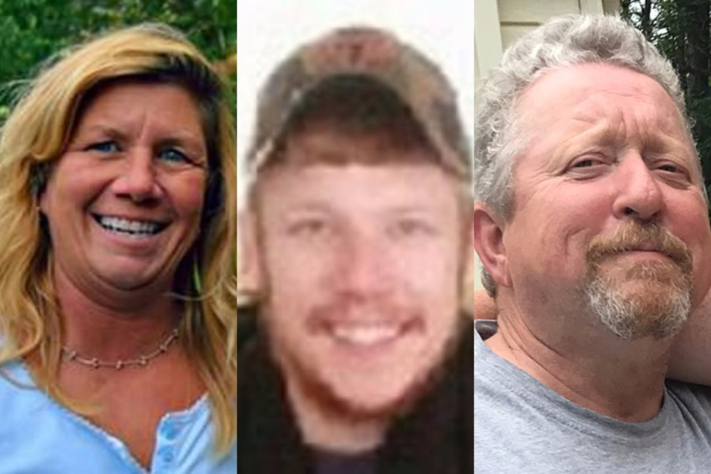 Victims of the deadly Madison shootings are, from left: Lori Hayden, Dustin Tuttle and Mike Spaulding.