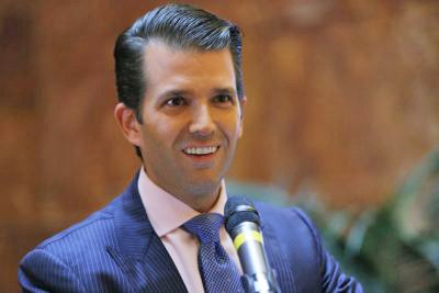 """Donald Trump Jr. responded to a music publicist's email suggesting he meet with a lawyer who had dirt on Hillary Clinton as """"part of Russia and its government's support for Mr. Trump"""" by saying he would """"love"""" to hear more."""