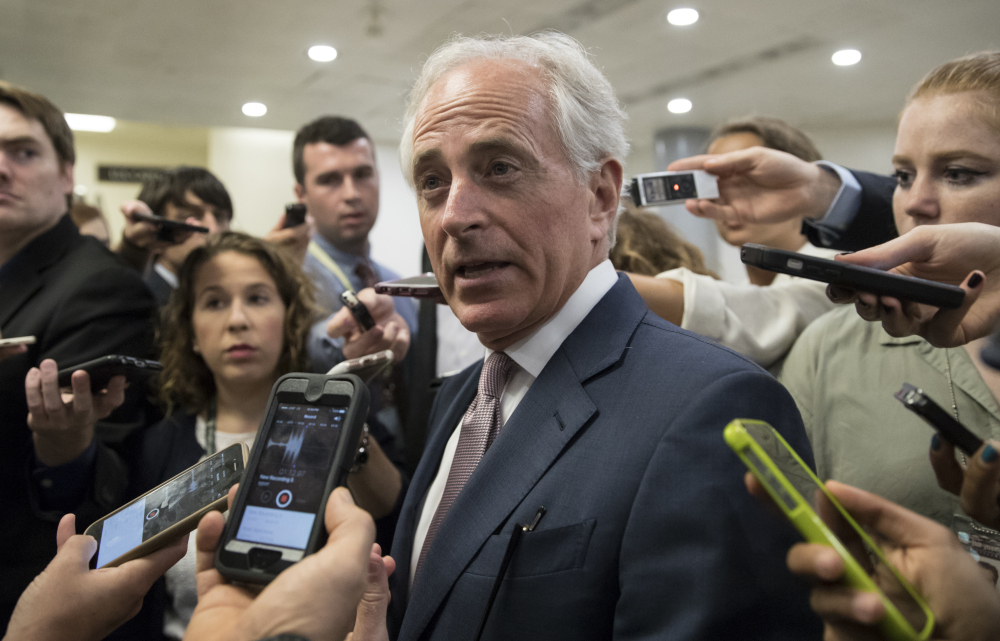 "Sen. Bob Corker, R-Tenn., a foreign policy ally of the Trump White House, delivered sharp criticism of Trump last week, saying the president ""has not yet been able to demonstrate the stability nor some of the competence that he needs to"" in dealing with crises."