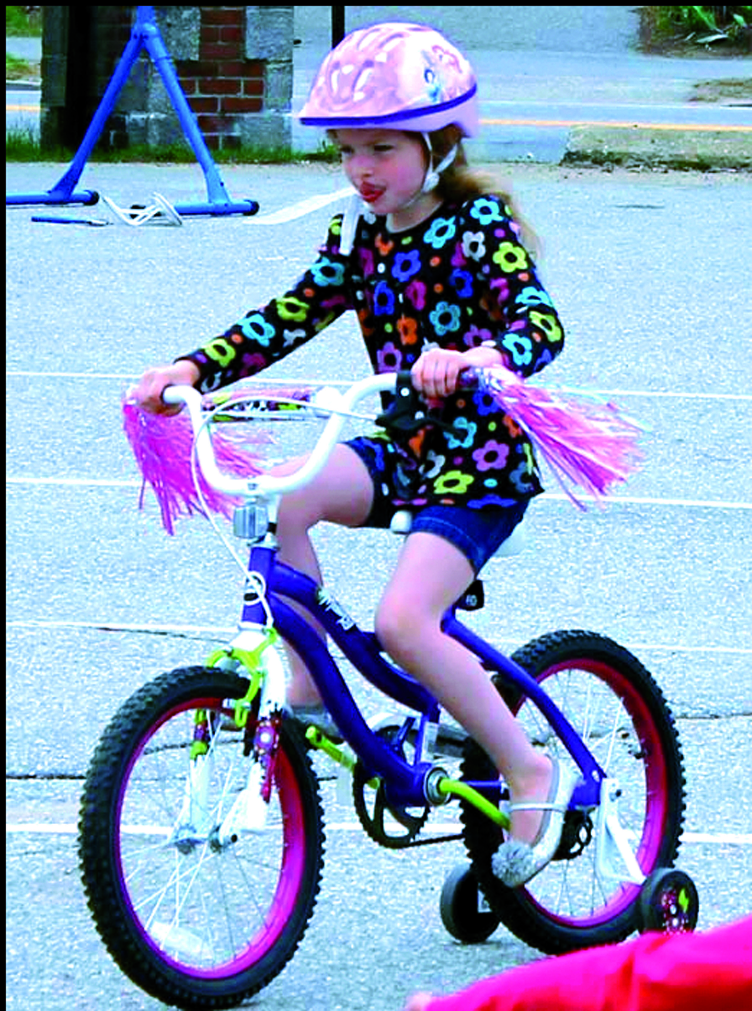 Cub Scout Pack 308's annual Bike Rodeo will be held from 9 a.m. to noon Saturday at Biddeford Primary School. The event is free and open to all kids in Grades 1 through Grade 5 and will focus on teaching bike safety, riding instruction, and safe biking. ED PIERCE/Journal Tribune