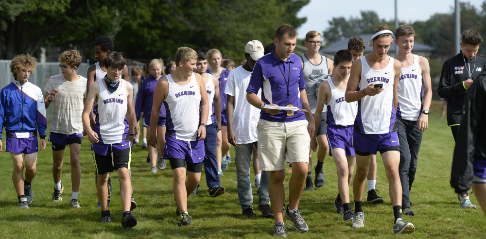 The Deering boys surpassed their preseason expectations last fall by finishing second in Class A. This year, the Rams see themselves as state championship contenders.