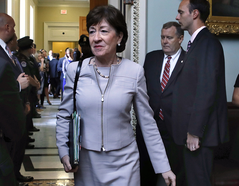Sen. Susan Collins, R-Maine, will announce next week whether she will run for governor of Maine.