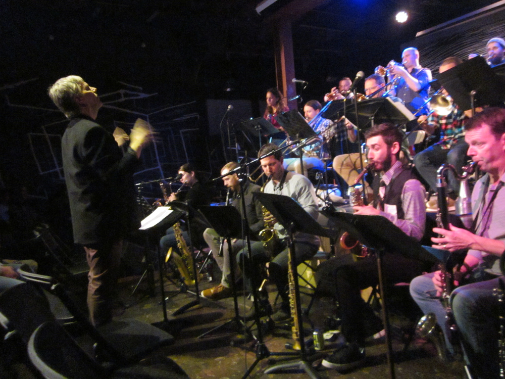 """Frank Carlberg and OurBigBand perform """"Monk Dreams, Hallucinations and Nightmares"""" on Friday at Space in Portland."""