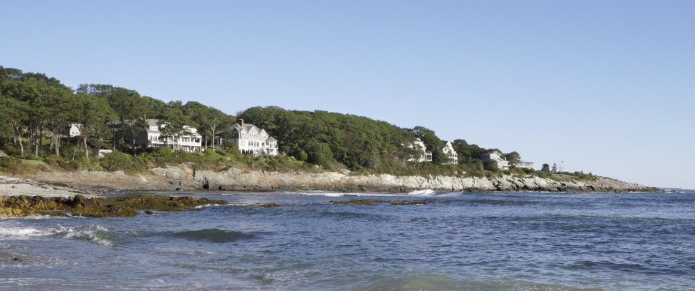 Access to the coast along this area of Shore Acres and Broad Cove in Cape Elizabeth has divided neighbors for years.