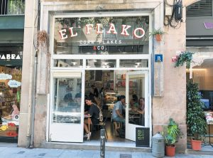 THIS PHOTO shows the El Flako cereal cafe in Barcelona, Spain.