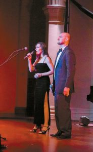 """ANGELA AND SHAWN ROBITAILLE will appear with more than 40 vocalists and dancers at Lewiston/Auburn's Gendron Franco Center's annual Gala and Benefit Concert, """"Thril-LA"""" on Saturday at 6 p.m."""