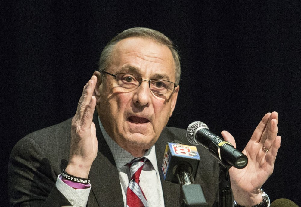Gov. Paul LePage says that Medicaid expansion in Maine must not increase taxes or tap into the state's reserve funds.