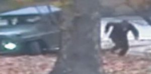 A NORTH KOREAN SOLDIER running from a jeep and later shot by North Korean soldiers.