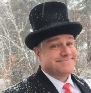 CHRISTMAS MAGICIAN SCOT GRASSETTE will perform at the Chocolate Church Arts Center in Bath Dec. 2.