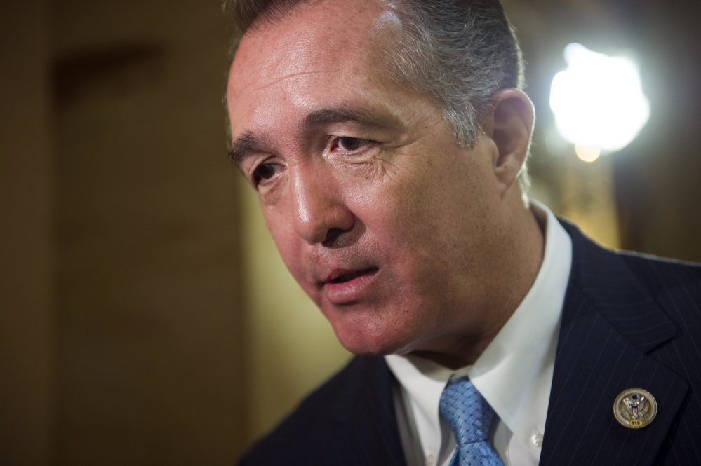 Rep. Trent Franks, R-Arizona, said Thursday he is resigning Jan. 31 amid a House Ethics Committee investigation of possible sexual harassment.