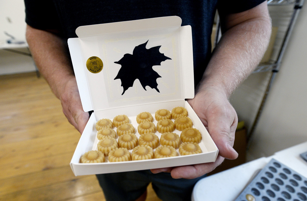 Tree Tap Extracts in Jay produces marijuana-infused maple sugar candies for patients, some of whom prefer to ingest the drug without having to smoke it.
