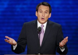 In this Aug. 29, 2012 file photo, former Minnesota Gov. Tim Pawlenty addresses the Republican National Convention in Tampa, Fla. Pawlenty is eyeing a climb back onto the national stage. AP WIREPHOTO