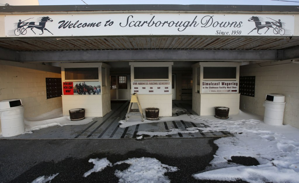 Scarborough Downs is one of two Maine suitors trying to lure Amazon to Maine.
