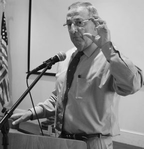 GOV. PAUL LEPAGE in Brunswick in July 2017. LePage told The Associated Press in December that lawmakers tasked with finding tens of millions of dollars to fund voter-approved Medicaid expansion must also consider the potential return of $51 million in federal funding spent on the operation of the Riverview state psychiatric center.