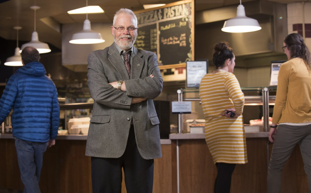 Thanks in part to Glenn Taylor, above, head of dining services at the University of Maine, who focused on finding local suppliers, 15 percent to 17 percent of the food budget went to local foods in 2017, up from 10 percent in 2011.