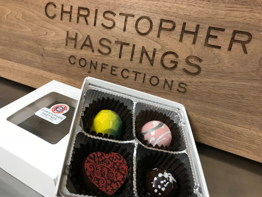 """Nate Towne and Mark Simpson came up with Christopher Hastings by combining their middle names. """"It looked and sounded really elegant, and we fell in love with it,"""" Towne said."""