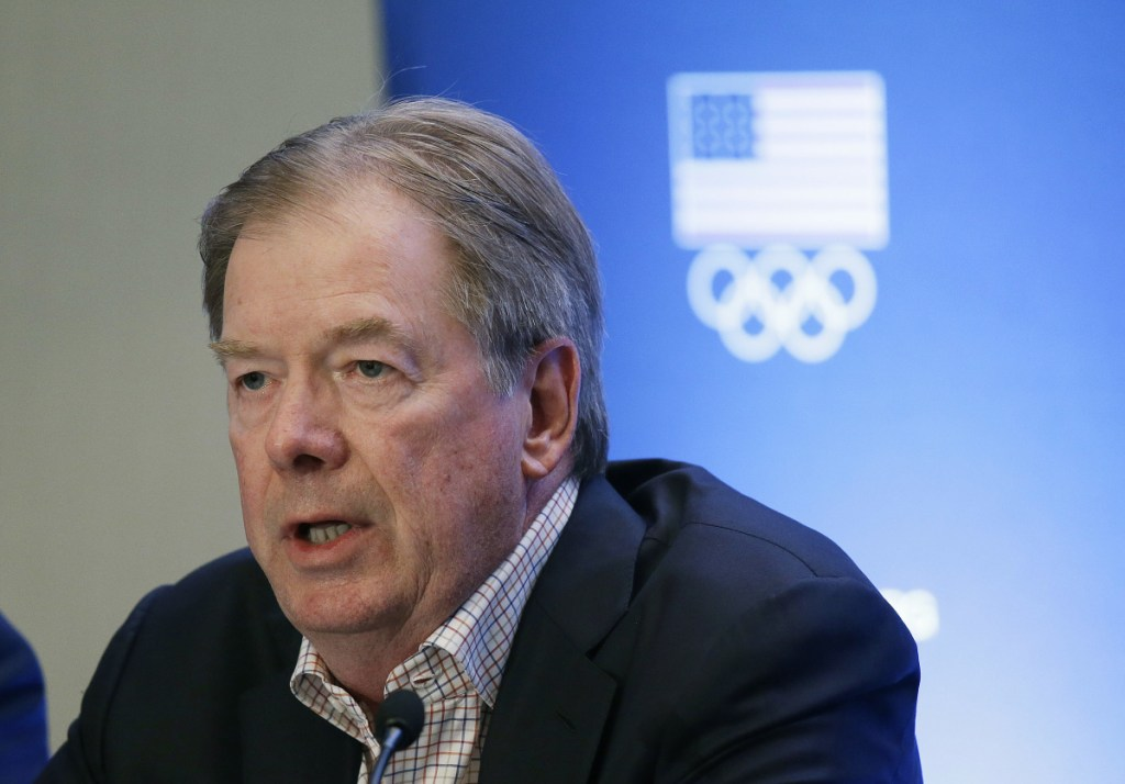 Larry Probst is the chair of the board of directors for the USOC after a career using the likenesses of college athletes without their permission as CEO of Electronic Arts.