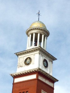 The clocktower on top of Biddeford City Hall was looking tired on a recent day — and city officials have said for years it is in need of repairs— but the landmark continues to impart a quiet elegance. On Tuesday, Biddeford Facilities Director Phil Radding said the city may look for joint funding for improvements to the clock tower and City Theater TAMMY WELLS/Journal Tribune