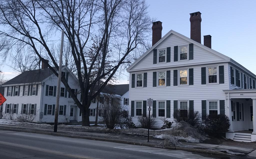 Waypoint Partners LLC has purchased North Yarmouth Academy's Weld and Shepley homes at 149 and 153 Main St. in Yarmouth.
