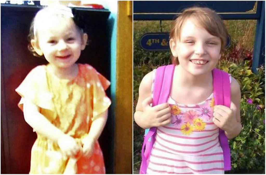 Kendall Chick, 4, left, of Wiscasset and Marissa Kennedy, 10, of Stockton Springs. Police say both children died after being beaten for months.