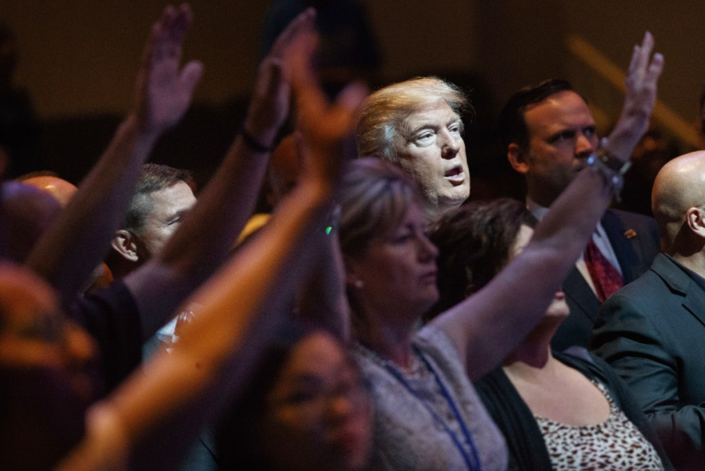 Candidate Donald Trump found a message that appealed to evangelicals in 2016. While Trump is still popular among many evangelicals, some leaders are having second thoughts about how the alliance has sometimes come to define the movement.