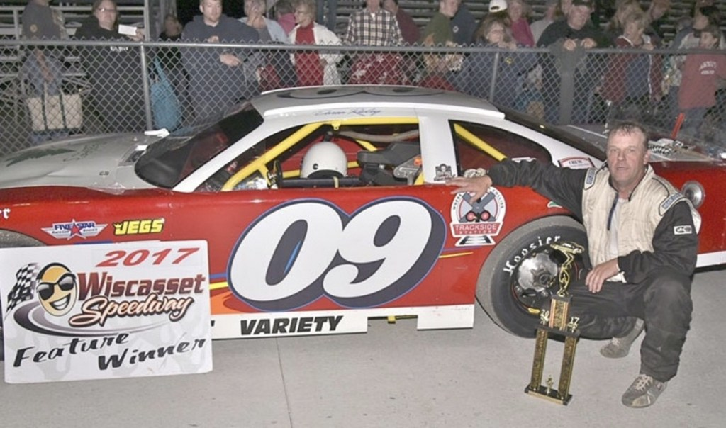 Daren Ripley of Warren won the Wiscasset Speedway track championship last season, the first title of a career which has produced more than 100 feature victories.