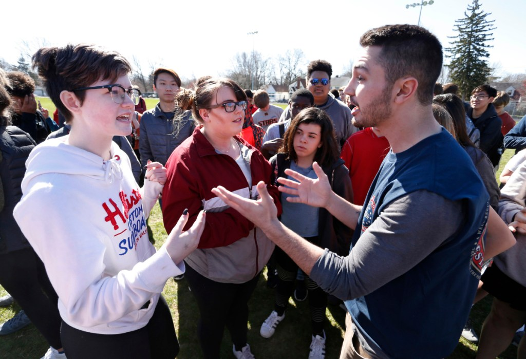 Students stage protests to end gun violence, mark 19th anniversary