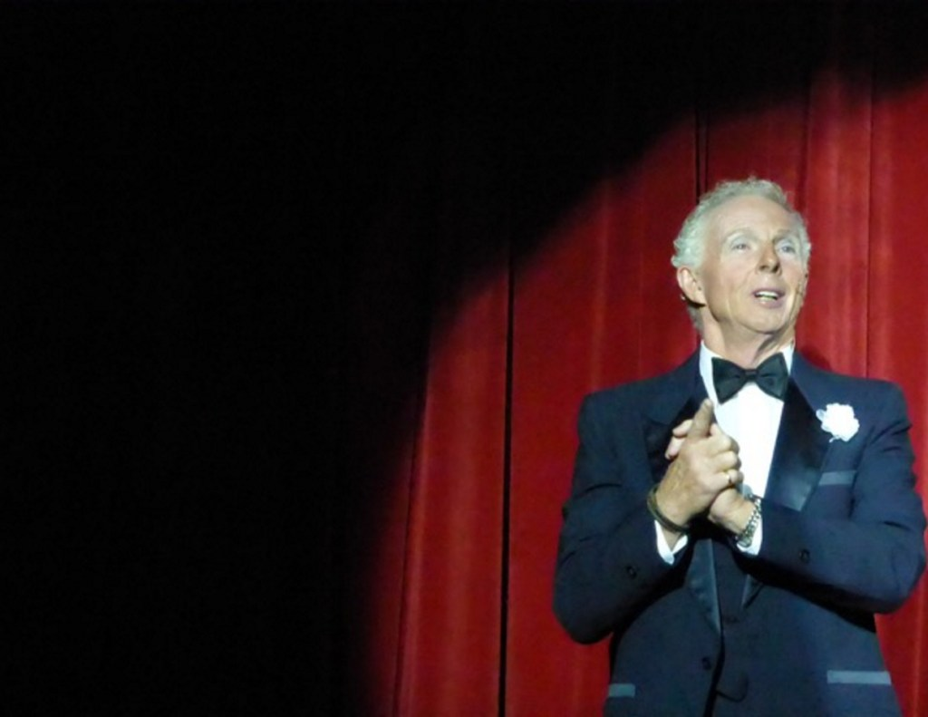 Gordon Strout was known for always wearing a tuxedo on the final night of theater performances at Gorham High School.
