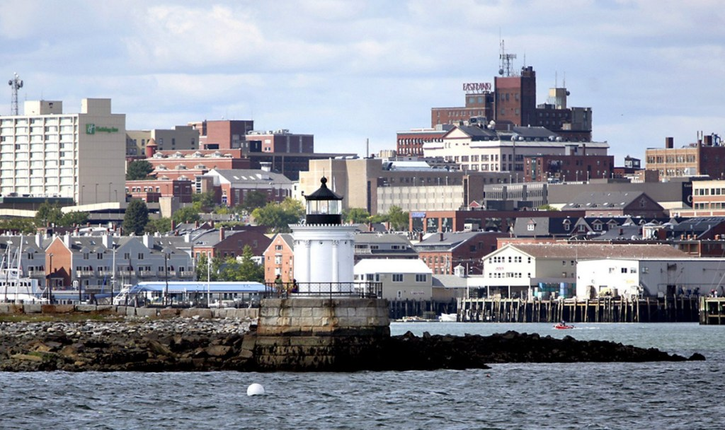Much of the Old Port west of Franklin Street, including the area above and a stretch of the waterfront to the west, has been designated an opportunity zone.
