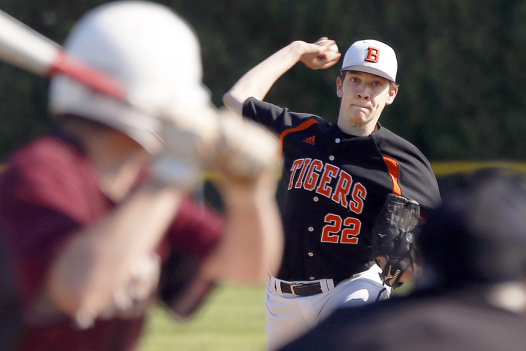 Brice Springer of Biddeford, who has been victimized by run support this year, threw a shutout against Windham.