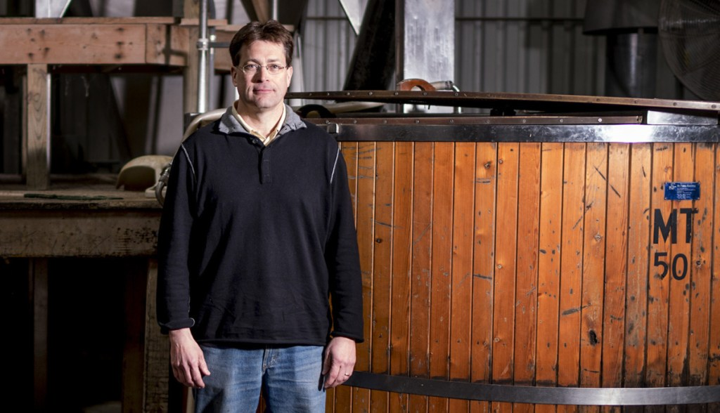 Alan Lapoint, new owner of D.L. Geary's Brewing Co.,