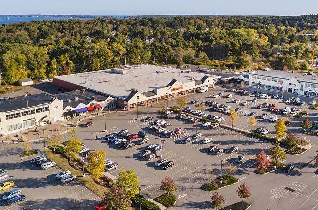 A major mixed-use development is proposed for the site of the Falmouth Shopping Center.