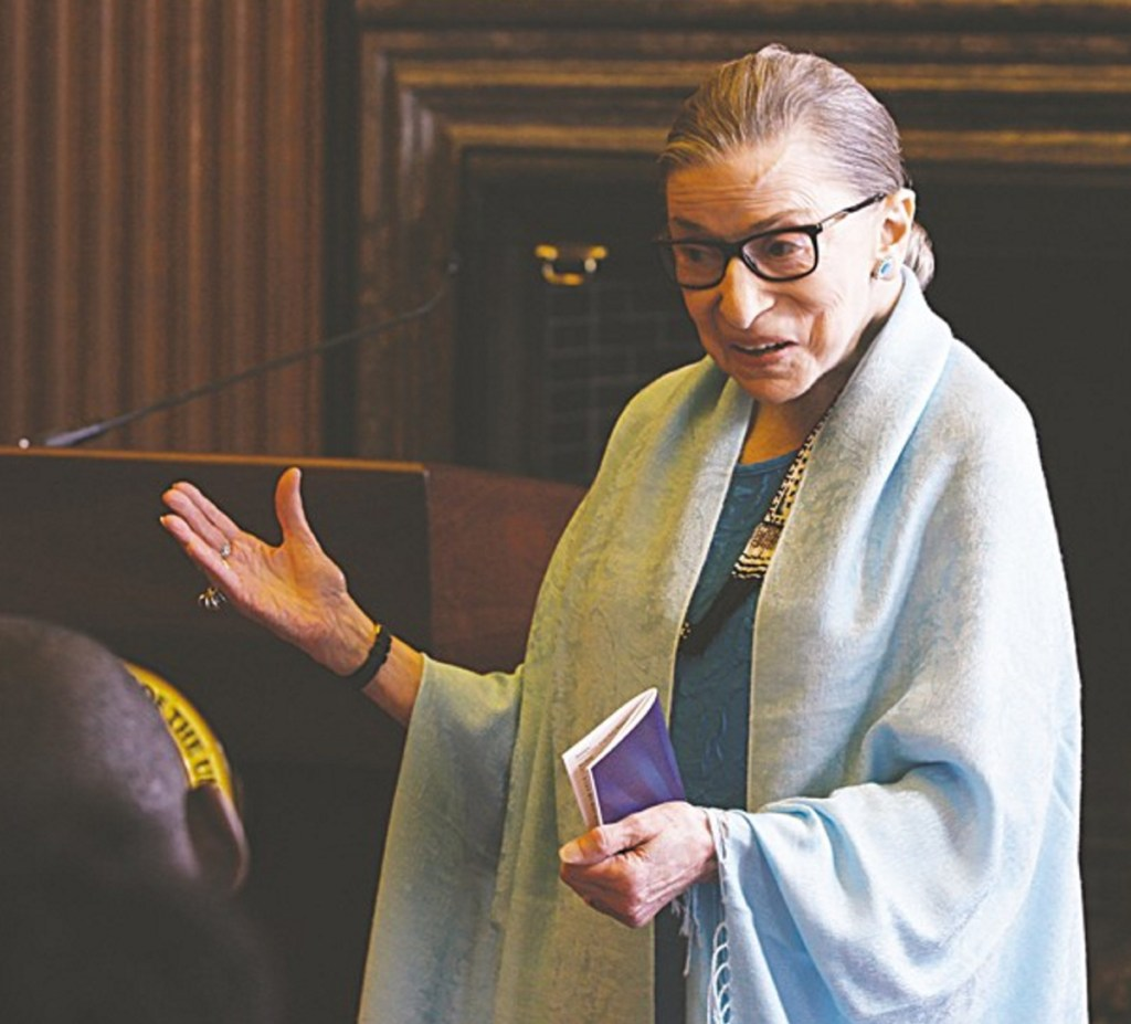 """Supreme Court Justice Ruth Bader Ginsburg is the subject of the recently released """"RBG."""""""