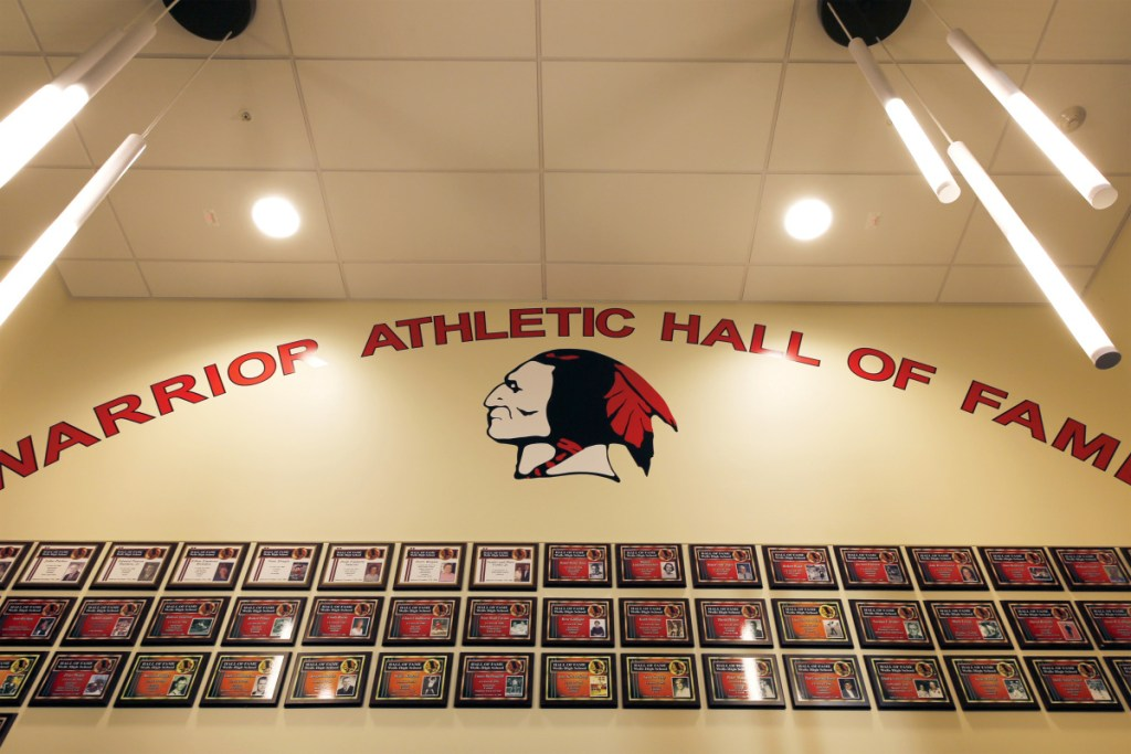 Fans who disagree with the recent decision to remove Native American imagery from Wells High, above, and all other schools in the Wells-Ogunquit district will find there is a lot more that binds a community together than a mascot drawing.