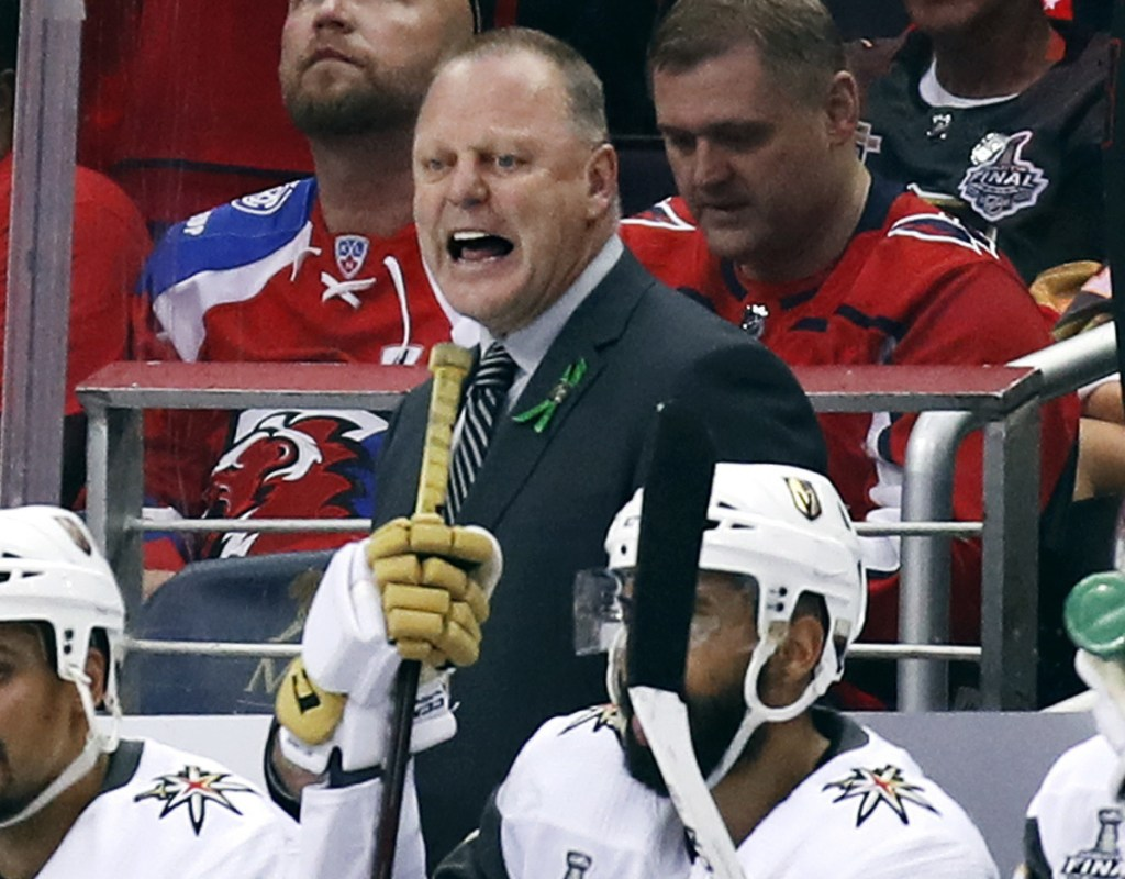 Gerard Gallant was the runaway choice as winner of the Jack Adams Award after leading Vegas to the Stanley Cup finals.