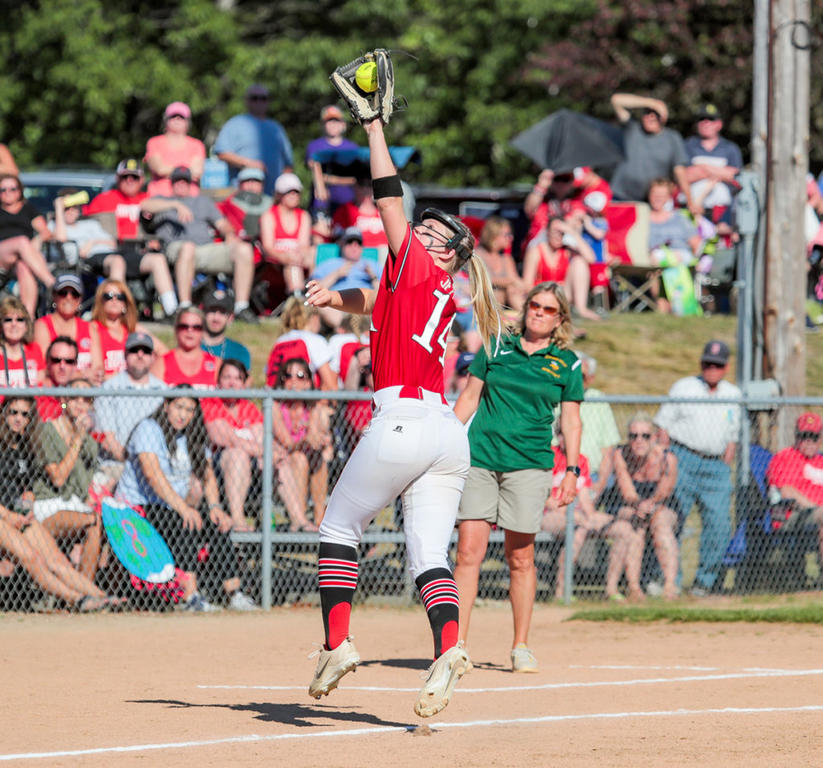 Scarborough softball repeats for first time - Portland Press Herald