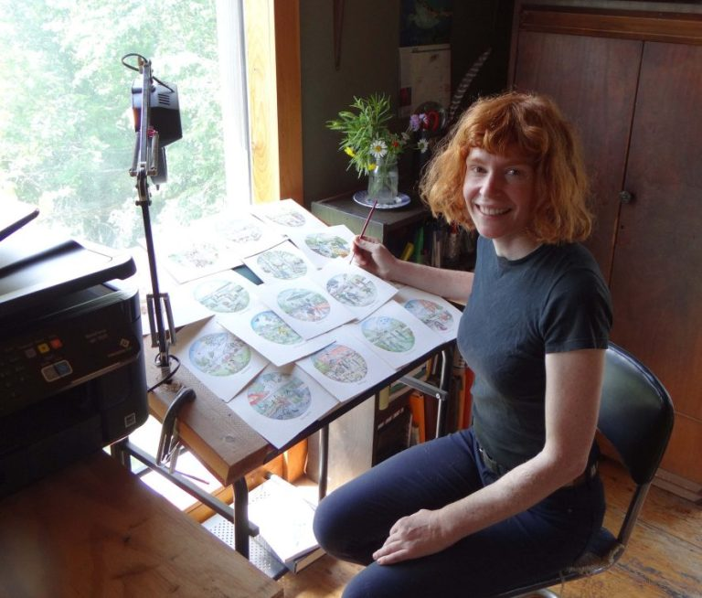 """""""Even when I was a little kid, I was always making drawings,"""" Nicole DeBarber says."""