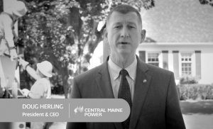 IN A TV AD, chief executive Doug Herling says CMP has expanded its customer service team and is working to address every concern raised. PHOTO TAKEN FROM VIDEO COURTESY OF CMP