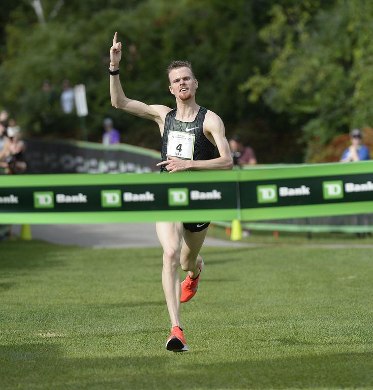 Top runners overcome humidity at Beach to Beacon - Portland Press Herald