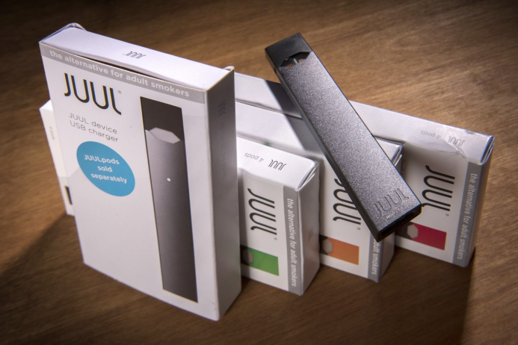 Under an FDA crackdown, Juul Labs is one of five e-cigarette manufacturers that must submit plans to federal regulators detailing ways to sharply curb sales to underage consumers.