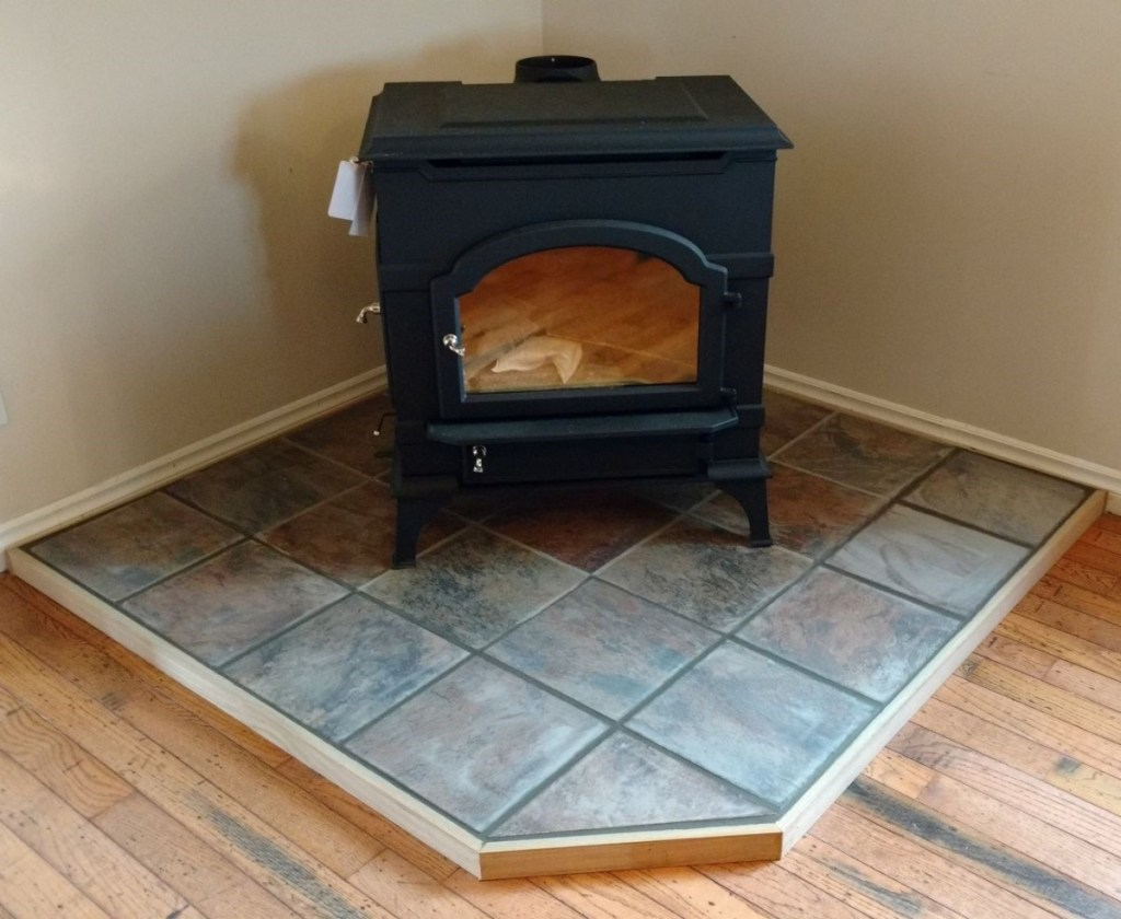 It takes about 10 days to make the average hearth pad.