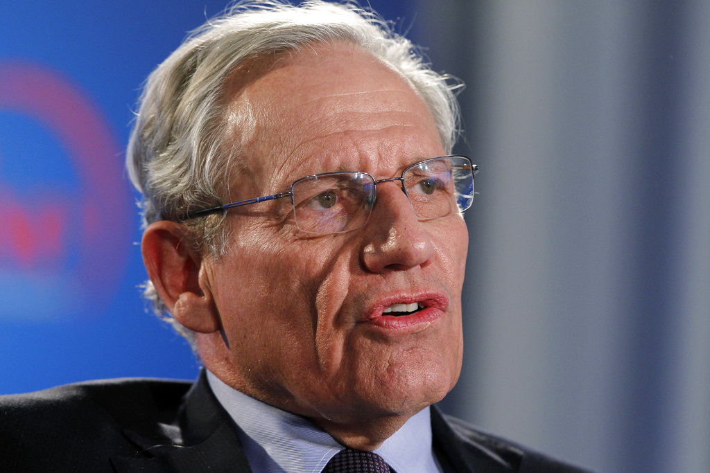 """Bob Woodward has been among the best-selling political writers for more than 40 years, going back to his Watergate classic """"All the President's Men,"""" co-written by fellow Washington Post reporter Carl Bernstein."""
