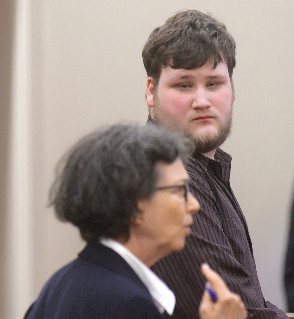 Travis Gerrier, 23, of Belgrade entered a conditional plea of guilty at Kennebec County Superior Court in Augusta on Aug. 21, 2017, for sexually assaulting an 11-year-old. He is represented by attorney Sherry Tash.